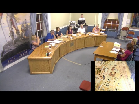 City of Plattsburgh, NY Meeting  8-21-17