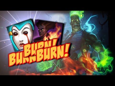 ¡BURN BUILD BRAND! Quemando curaciones | Garmy | League of legends | Diamante