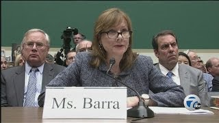 General Motors CEO Mary Barra testifies on Capitol Hill