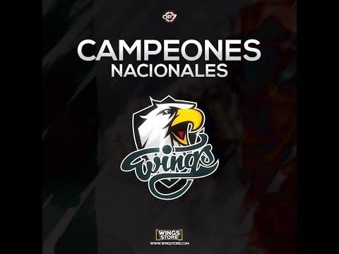 ¡Wings campeón nacional de México! #NosVemosEnColombia