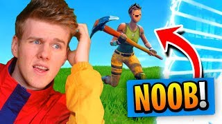 I FOUND The BIGGEST NOOB In Fortnite Battle Royale!