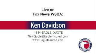 5/19/15 → Ken Davidson from Eagle Independent Insurance Agency live on News Radio
