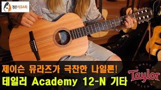 [테일러기타] 테일러 Academy 12-N 기타 리뷰…