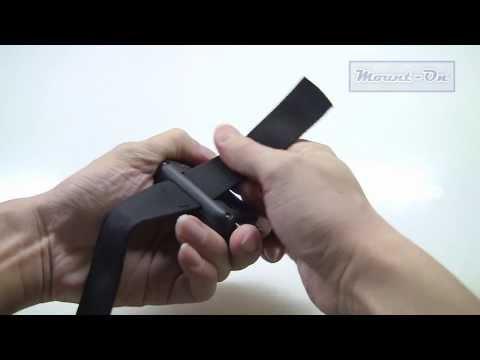 Attaching the wifi remote strap