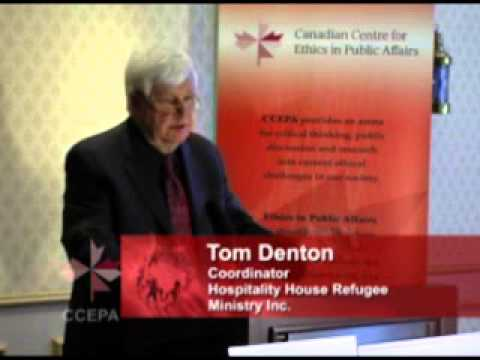 CCEPA: Ethics in Migration - Immigration Policy and our National Vision - Tom Denton