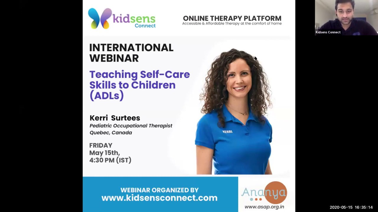 Teaching Self-Care Skills to Children (ADLs)