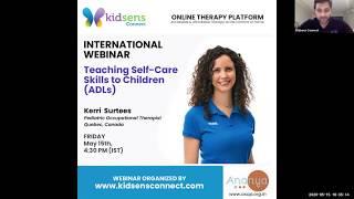 Teaching Self-Care Skills to Children (ADLs)