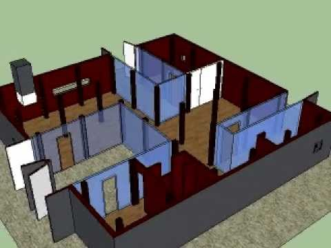 Weekend House Ryue Niawa Sketchup