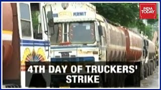 Mumbai Supplies To Be Hit As All-India Truckers' Strike Enters Day 4
