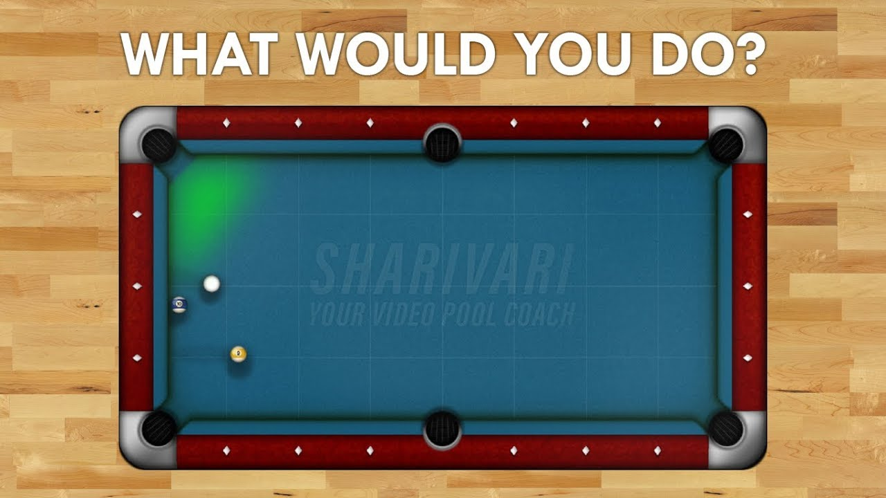 Pool Shot | Do You Know How To Play This Shot