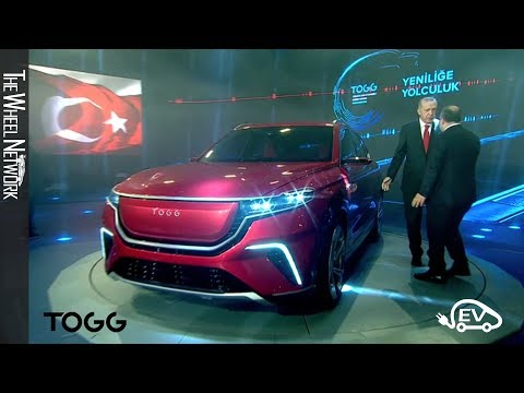 TOGG Unveil – Turkey's New Electric Vehicle Manufacturer