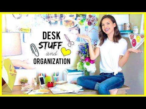 my-desk-essentials-+-organization!