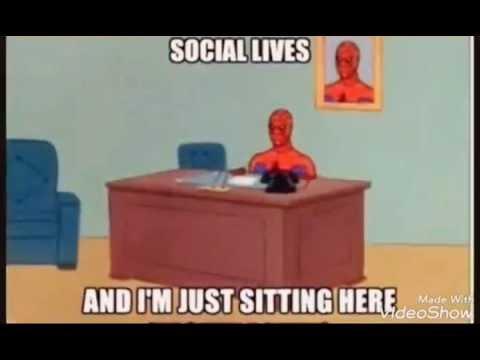 Spiderman Meme Desk Small Under Desk Refrigerator