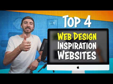 Web Design | The Top 4 Websites to Find Inspiration