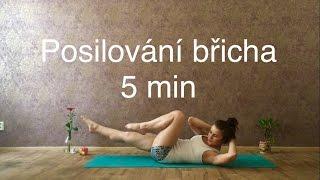 Posilování na břicho   5 min