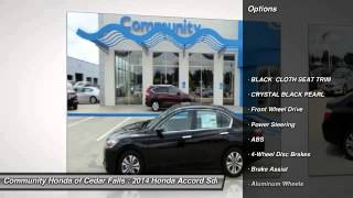 2014 Honda Accord Sdn Cedar Falls IA H8797