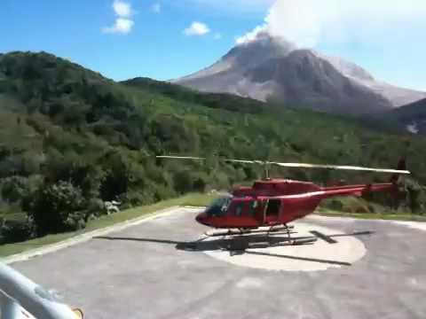 Montserrat Soufriere Hills Volcano