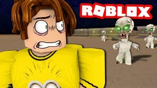 CAMPING in ROBLOX'S AREA 51!