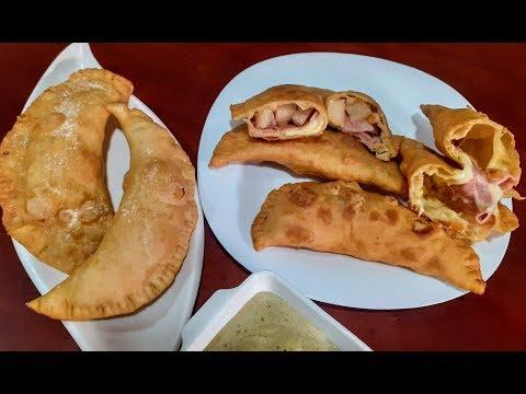 Empanadas, De Viento🇪🇨, Jamón Y Queso🥟, Hawaiana🍍