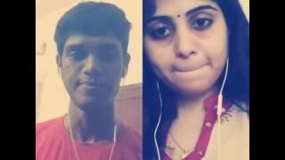 അനുഗ്രഹീത കലാകാരന്മാർ  Best Malayalam Duet Smule  Ponnil kulichu ninnu, Soumya, Arun Mohan