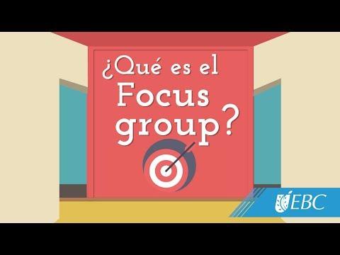 ¿Qué es el Focus group?
