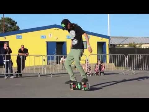 Freestyle Skateboard Demo NASS Festival 2014 - Sunday