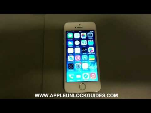 How to unlock an Verizon locked iPhone 5S - Easy guide !