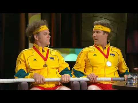 Will Ferrell and John C. Reilly interview on ROVE - Part 1   www.RentFree4Life.com