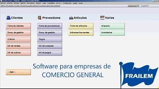 Software para gestionar el Comercio en General
