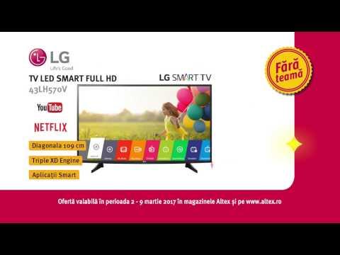 Reclamă ALTEX - TV LG - martie 2017