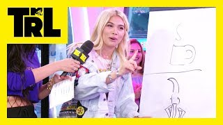Hayley Kiyoko Flexes Her Drawing Skills In 'Pic This' | Weekdays at 3:30pm | #TRL