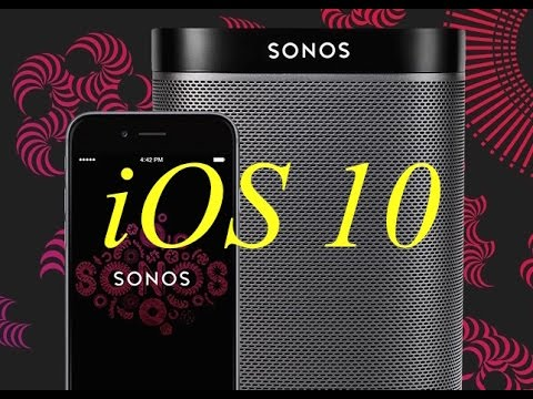 How to stream any audio YouTube etc from an iPhone to Sonos speakers using AirPlay iOS 10