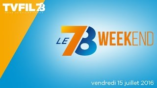 Le 7/8 Weekend – Emission du vendredi 15 juillet 2016