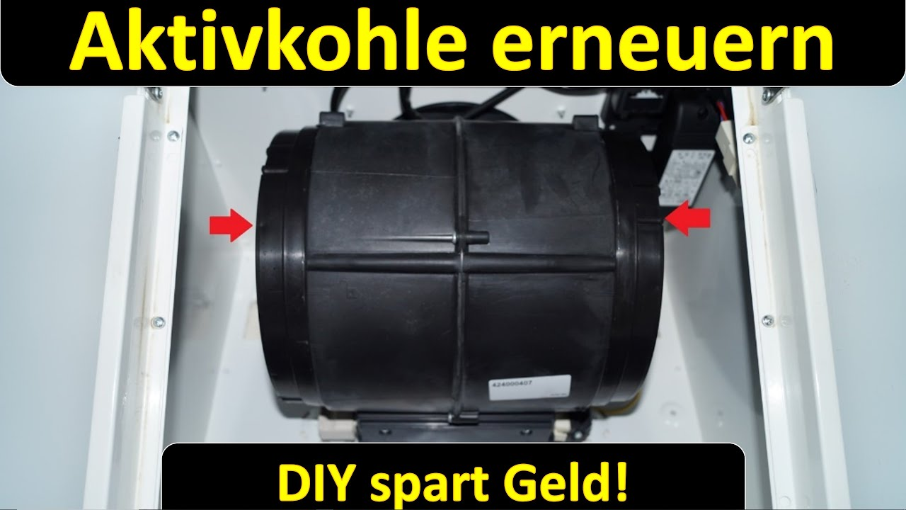 Dunstabzugshaube Aktivkohle Befüllen Tausch Cooker Hood Refill Replace Carbon De English Youtube