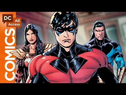 Nightwing Is Back in Titans Hunt!