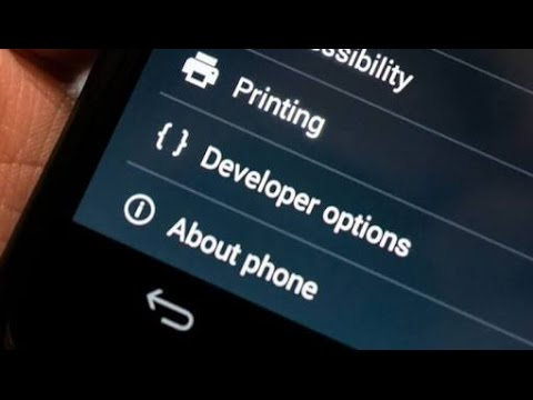 Tricks To Do With  Developer Option in Android! [HD]