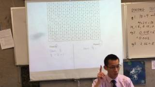 Dividing Decimals by Whole Number (2 of 2: Integer Noughts and Crosses)