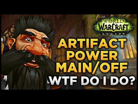 Artifact Power Main/Off Spec WTF DO I DO!