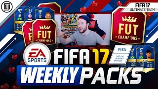 FIFA 17 WEEKLY REWARDS!!! MASSIVE PULL!!! - FIFA 17 Ultimate Team