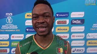 16-09-2018: #barivolley2018 -  Le voci del Camerun nel post Camerun - USA