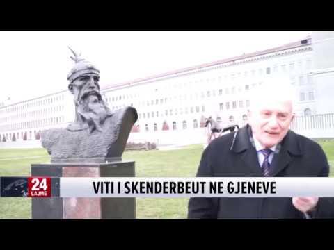 Viti i Skënderbeut në Gjenevë, Reportazh nga Mira Bregu