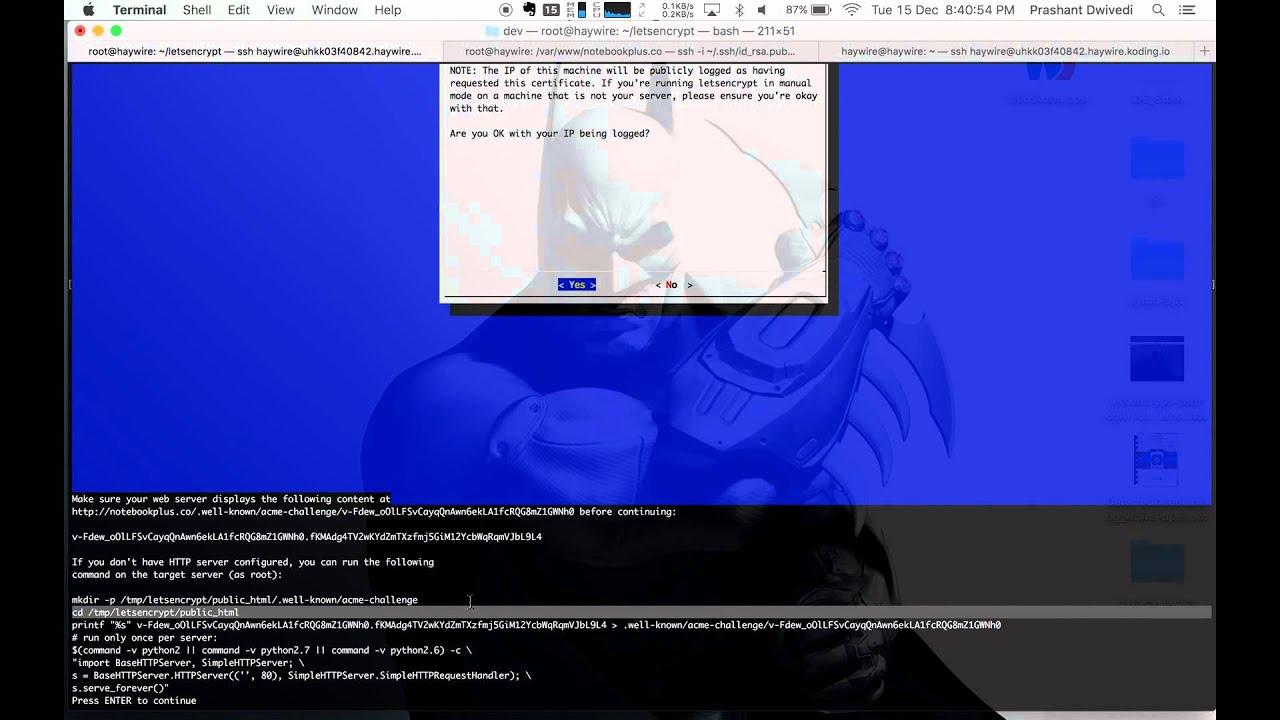 Letsencrypt 101 downloading and installing ssltls certificates letsencrypt 101 downloading and installing ssltls certificates with letsencrypt nginx xflitez Gallery