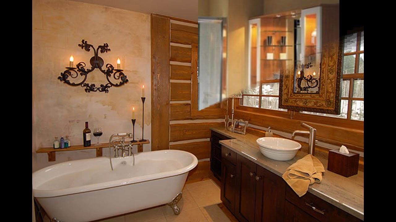 Country Bathroom Decorating Ideas: Beautiful Country Bathroom Design Ideas