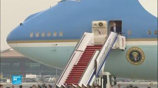 ترامب يصل إلى الصين في أول زيارة بعد انتخابه رئيسا للولايات المتحدة