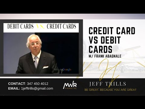 Frank Abagnale - Credit Card VS Debit Cards | Jeff Trills Jantuah | MWR Financial