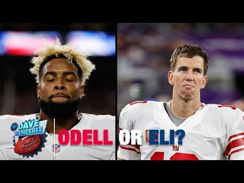 Odell Beckham Jr. or Eli Manning: Who