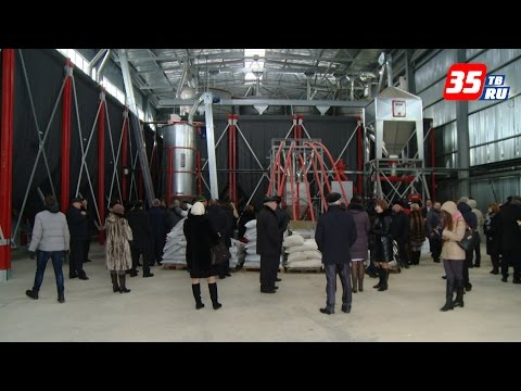 В Грязовецком районе запустили современный зерносушительный комплекс