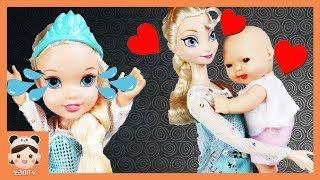 시크릿쥬쥬 아기 돌보기 동생만 좋아해! 인기동요 상어 가족 아기상어 엄마놀이 공주 인형 장난감 놀이 상황극 영상이에요 baby doll | 보라미TV