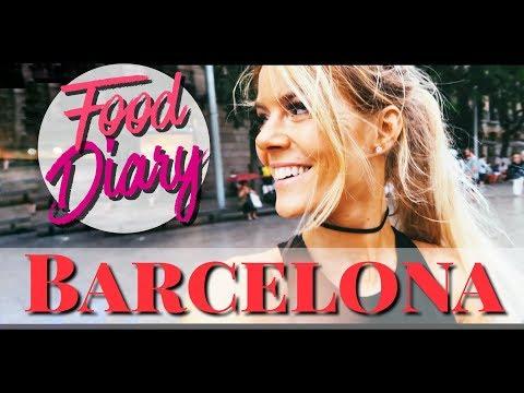 Barcelona ☀ Food Diary 😋 Smoothie Bowl | Churros | Achterbahn 🎢 Vlog - die besten Reaturants &mehr