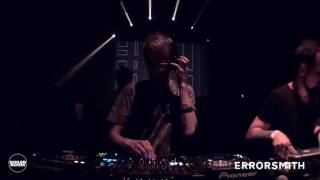 Electronic: errorsmith Boiler Room London DJ Set